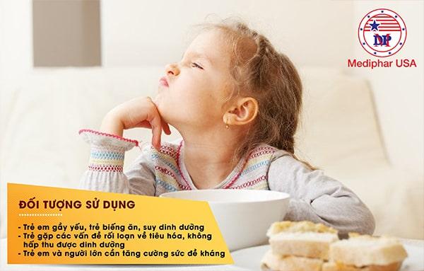 Siro ăn ngon tiêu hóa khỏe rất hiệu quả cho trẻ nhỏ gặp các rối loạn về hệ tiêu hóa.